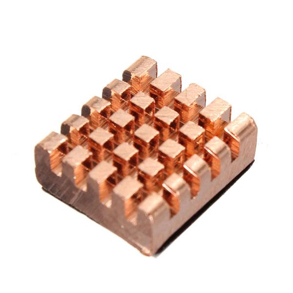 8stk Speicher Kupfer Kühlkörper für DDR DDR2 DDR3 RAM 12x13x5mm Computer Komponenten