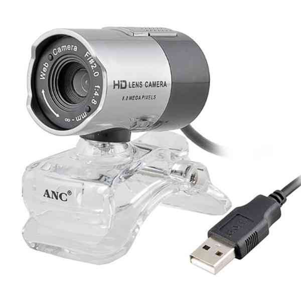 ANC HD LENS F2.0 CMOS Webcam with Microphone Webcams