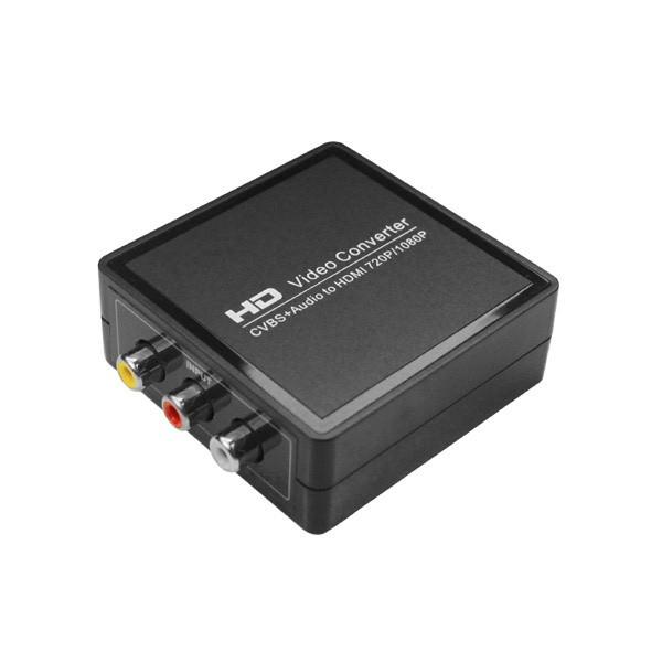 AV (CVBS) til 1080P HDMI Adapter Konverter Computer Komponenter