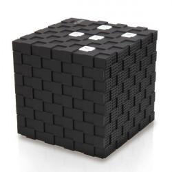 BS-12 Cube Bluetooth Genopladelig Portable Trådløs Højttaler med Mic
