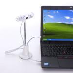 Bøjeligt USB2.0 HD 10.0 M Pixels Webkamera Webcam med Mic Win 7/8 Webkameraer