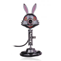 Carpo Z2 6 Mega Rabbit Style Metal HD Webcam For PC And Laptop