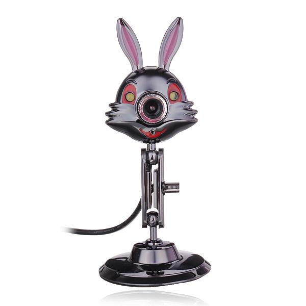Carpo Z2 6 Mega Rabbit Style Metal HD Webcam For PC And Laptop Webcams