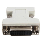DVI-I Female Analog 24+5Pin to VGA Male 15Pin Connector Adapter for PC Computer Components