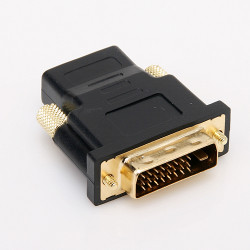 DVI Male to HDMI Female M-F Adapter Converter For HDTV