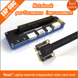 EXP GDC Beast Laptop External Independent Video Card Dock