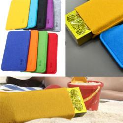 Følte Carry Soft Case Cover Taske til Jawbone Mini Jambox Bluetooth Højttaler