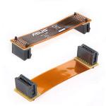 Flexible elektronische SLI Brücke PCI E Computer Video Anschluss 3 Computer Komponenten