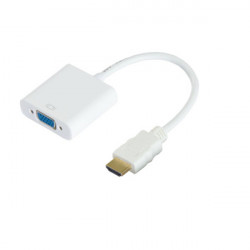 HDMI to VGA Plus 3.5mm Audio Cable Converter Adapter