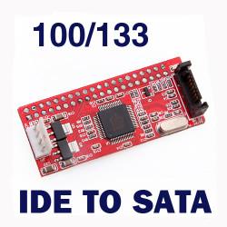 IDE auf SATA 100/133 HDD / CD / DVD Konverter Adapter Kabel