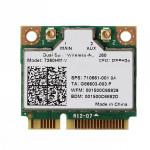 Intel Dual Band Trådlös-AC 7260HMW Wifi Bluetooth 4.0 Half Mini PCI-E Datorkomponenter