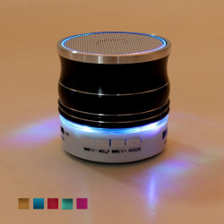 KH-50 Led BluetoothV3.0 Speaker Stereo Super Bass with Mic TF FM