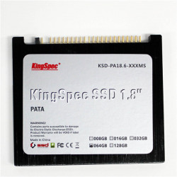 KingSpec 1.8inch 32G 64G 128G PATA Interface SSD for IBM X40 X41 X41T