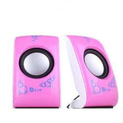 Mini kleine tragbare Lautsprecher für MP3 MP4 Laptop