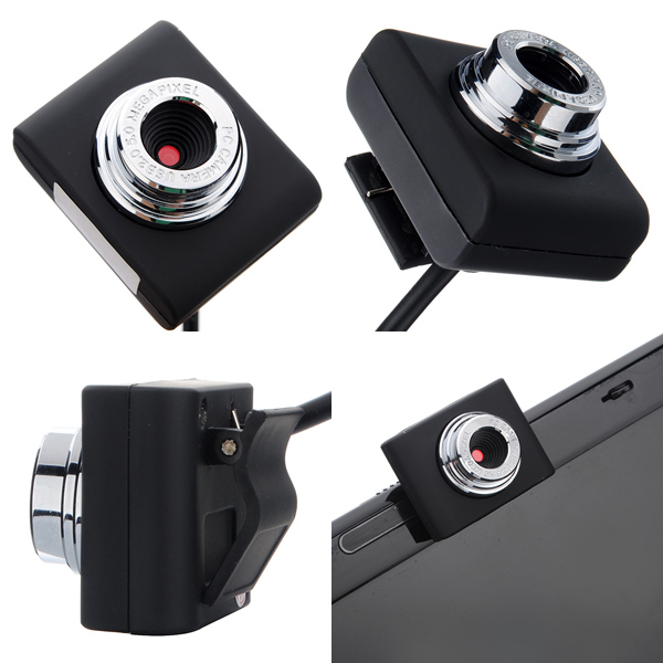 Mini USB 30M Webcam Camera Web Cam For Laptop Notebook-New Webcams