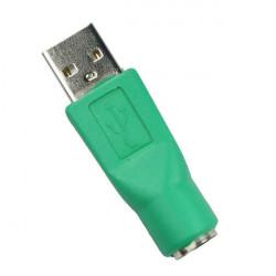 Ny PS2 Hun til USB Han Konverter Plug