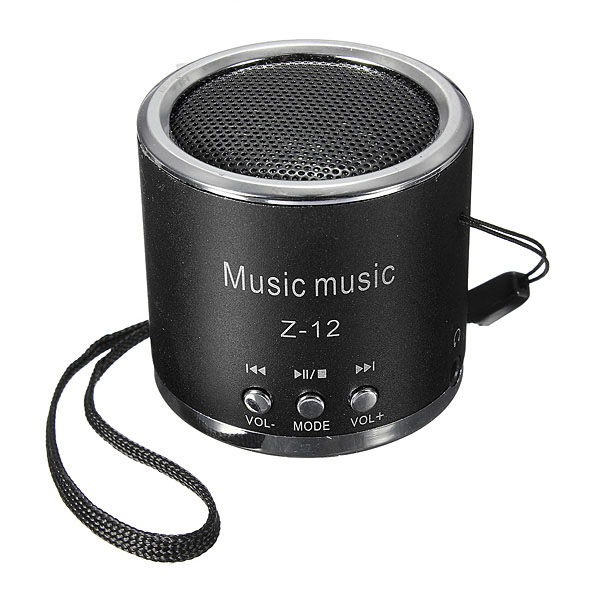 Portable Mini Speaker Amplifier FM Radio USB Micro SD TF Card MP3 Computer Speakers