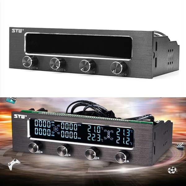 STW-6041 CPU Køling Ventilator Speed Temperatur Controller til Desktop Computer Komponenter