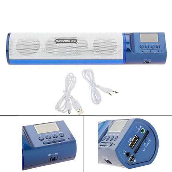 SingBox SV-500S Højttalere Bar Stereo Card LINE-IN U-DISK FM Højttaler Computer Højtalere
