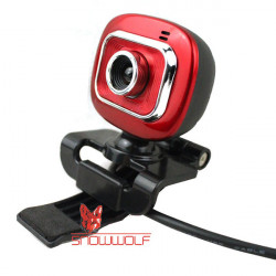 Snowwolf M11 6.0 Mega Pixel CMOS Webcam With Clip