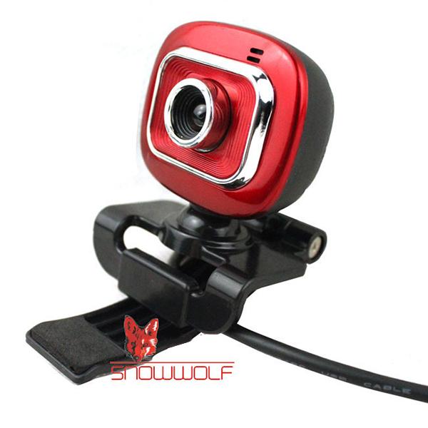 Snowwolf M11 6.0 Mega Pixel CMOS Webcam With Clip Webcams