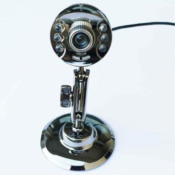 Snowwolf Z7 5 MP 6 LED USB Webkamera Webcam med Mircophone Webkameraer