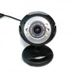 USB 12,0 6 LED WEBCAM CAMERA Webbkamera Mikrofon för PC BÄRBAR Webbkameror