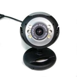 USB 12,0 6 LED WEBCAM CAMERA Webbkamera Mikrofon för PC BÄRBAR