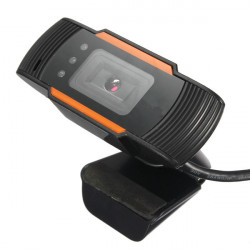 USB 2.0 Clip-on Webcam Camera HD 12 Megapixels with MIC for PC Laptop