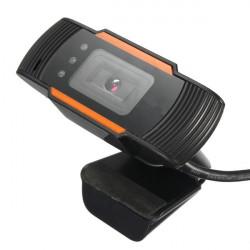 USB 2.0 Clip-On Webbkamera Kamera HD 12 Megapixel med MIC för PC Laptop