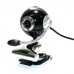 USB 2.0 Sphere Webcam Computer Camera Digital  With Microphone For PC