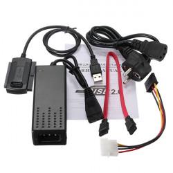 USB 2.0 zu SATA IDE Festplatte Kabel für HD HDD Adapter W Energie