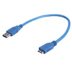 USB 3.0 Typ A Stecker an Micro B Stecker Kabel für Wechselfestplatte