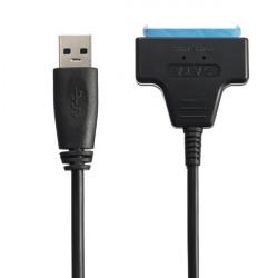 USB 3.0 till SATA 22Pin Kabel för 2,5 Tums SSD Hårddisk Driver