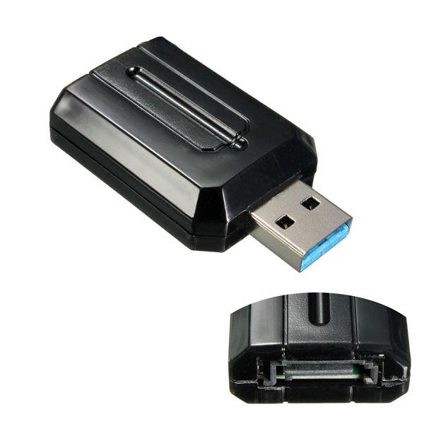 USB 3.0 zu SATA Externe Adapter Konverter Fit 2.5 / 3.5 Zoll Festplatte Computer Komponenten