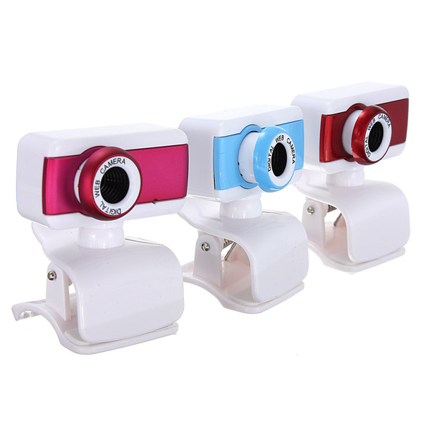 USB 50M Webkamera Webcam Kamera Webkamera Webcam med Mikrofon til PC Laptop Webkameraer