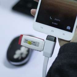 USB til Micro OTG Funktion Multifunktionel Smart F118 Y-kabel