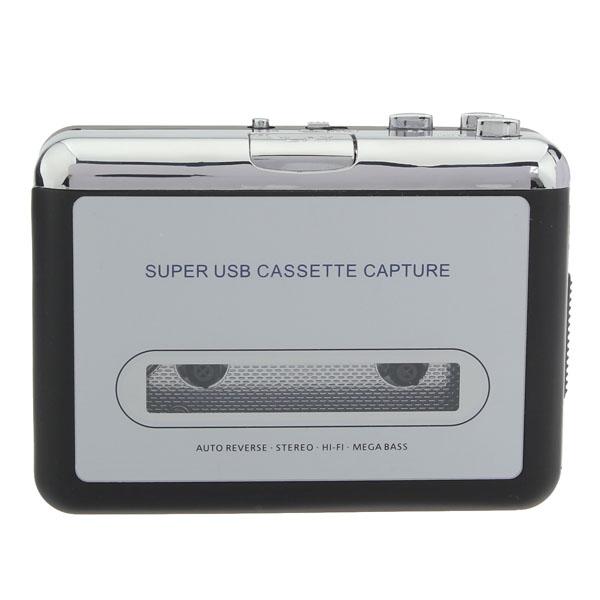 12V 10W USB Stereo Cassette Capture Kassette til MP3 Transducer Laptop & Tilbehør