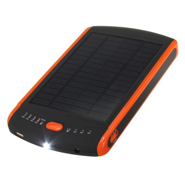 23000mAh 85WH Ekstern Solar Mobile Power Laptop Oplader Laptop & Tilbehør