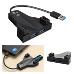 4 Port High Speed ​​USB 3.0 Hub Adapter til Desktop Laptop Mac Laptop & Tilbehør