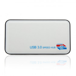 4 Port USB 3.0 / 2.0 / 1.1 Externer HUB Adapter für PC Laptop HDD 5 Gbps