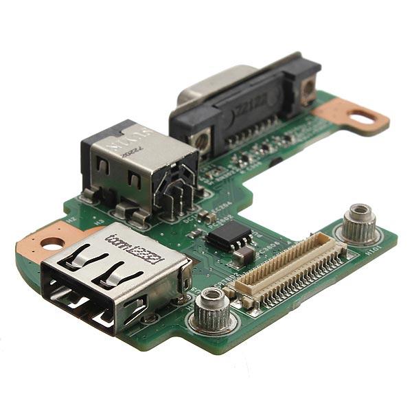 AC DC Power Jack Port VGA USB IO Board PFYC8 til Dell Inspiron Laptop & Tilbehør
