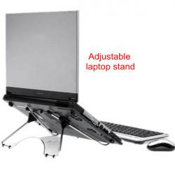Justerbar Rostfritt Stål Ställ Lämplig för 7-17 Tums Tablet Laptop