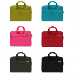 Colorful Nylon 11.6 Inch Laptop Handbag Carry Case Cover Bag