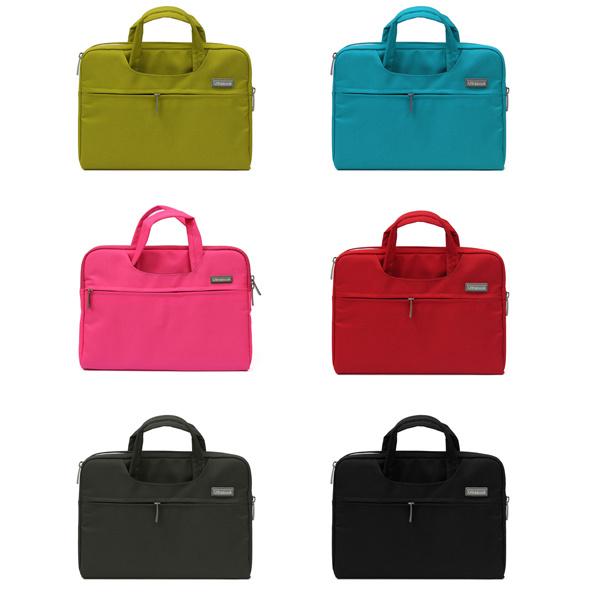 Colorful Soft Nylon 13,3 Tums Bärbar Dator Bärväska Handväskan Laptop Tillbehör