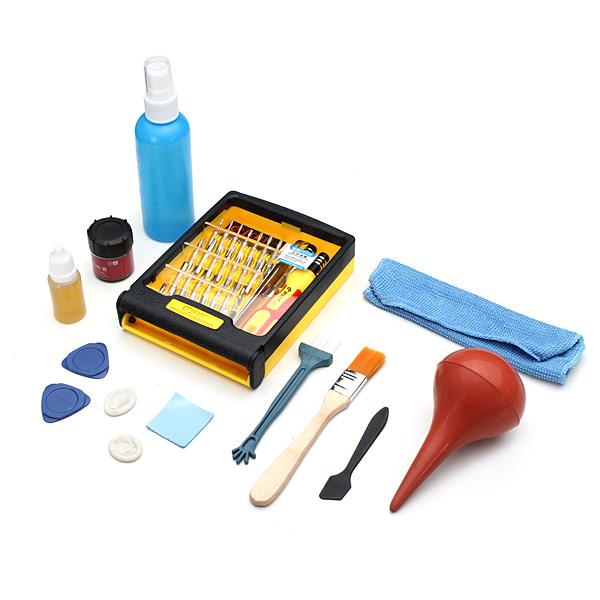 Dator Reparationer Skruvmejsel Kombinera Universell Clean Kit Laptop Tillbehör
