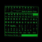 DIY Selbstklebende Glühende leuchtende Leuchtstoff Keyboard Stickers Laptops & Zubehör
