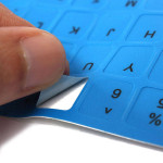 English US Non-transparent Keyboard Sticker Laptops & Accessories