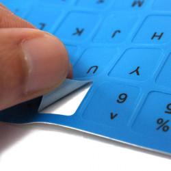 Englisch US Nicht transparente Tastatur Aufkleber