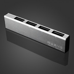 LDNIO DL H1 Aluminiumlegierung High Speed ​​4 Port USB 2.0 Hub